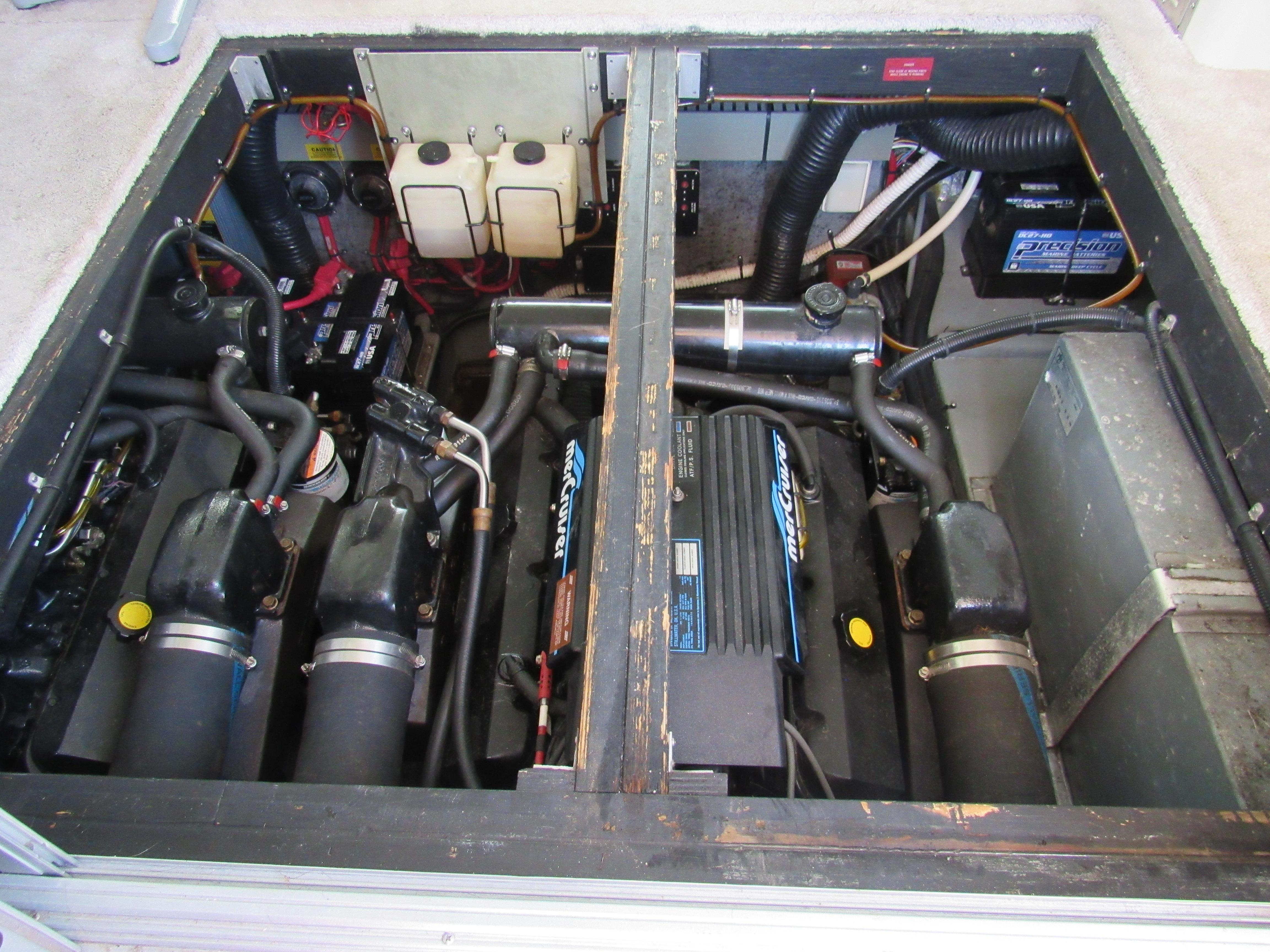 Clean Generator Compartment