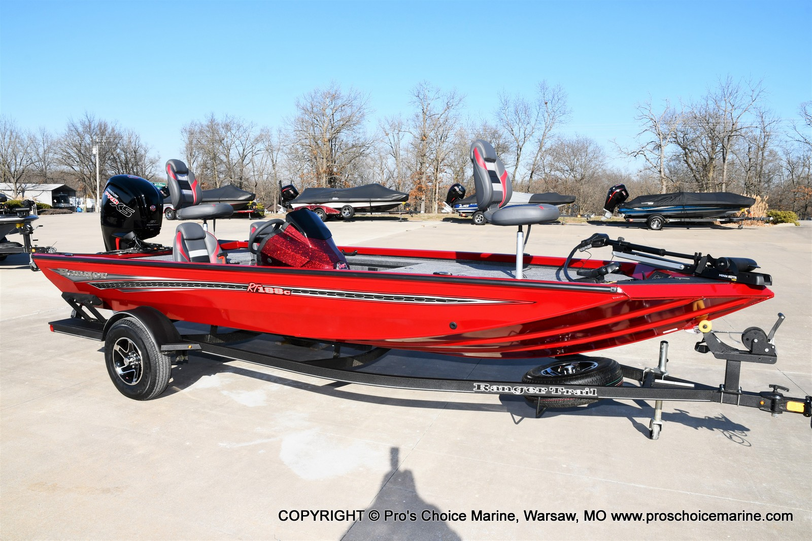 2021 Ranger Boats boat for sale, model of the boat is RT188C w/115HP Mercury Pro-XS Command Thrust & Image # 1 of 50