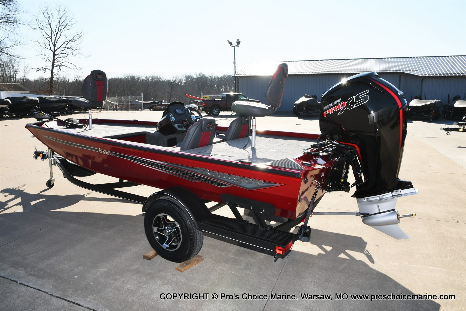 2021 Ranger Boats boat for sale, model of the boat is RT188C w/115HP Mercury Pro-XS Command Thrust & Image # 6 of 50