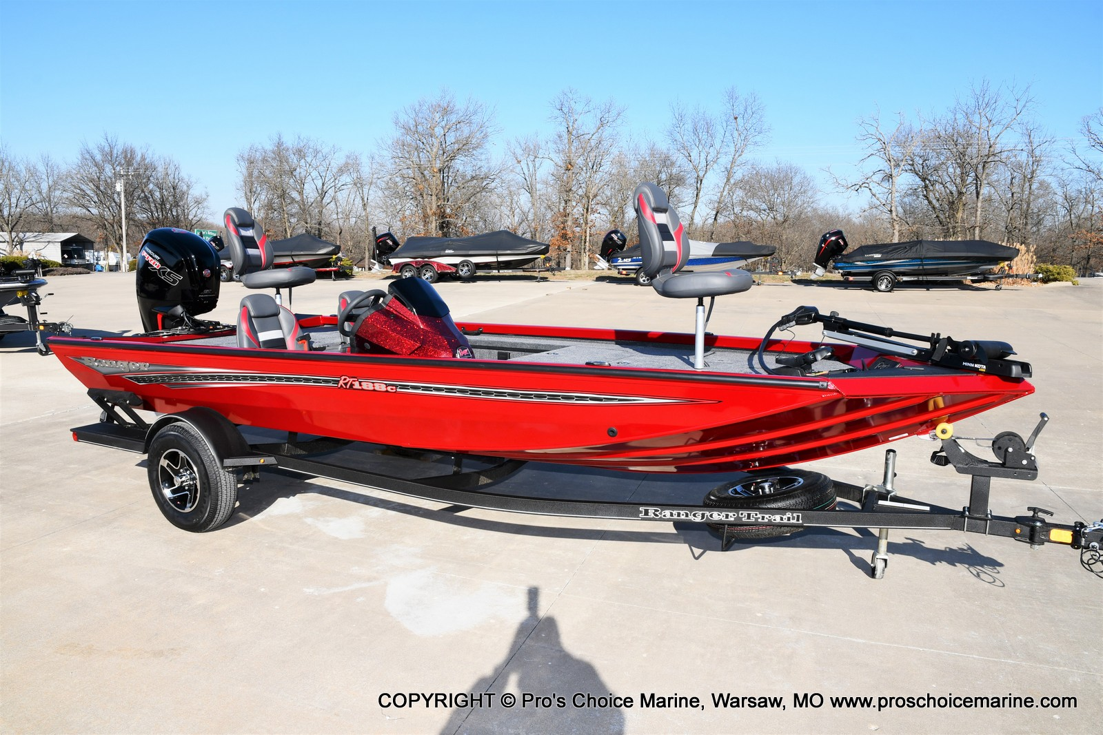 2021 Ranger Boats boat for sale, model of the boat is RT188C w/115HP Mercury Pro-XS Command Thrust & Image # 23 of 50