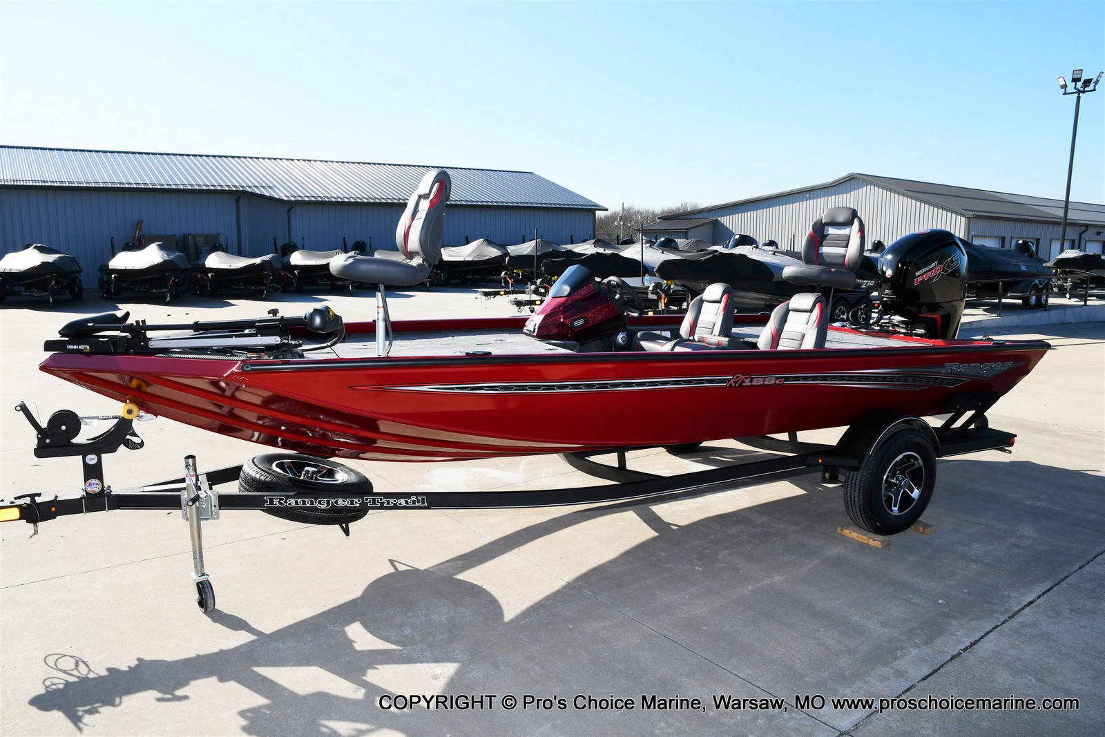 2021 Ranger Boats boat for sale, model of the boat is RT188C w/115HP Mercury Pro-XS Command Thrust & Image # 37 of 50