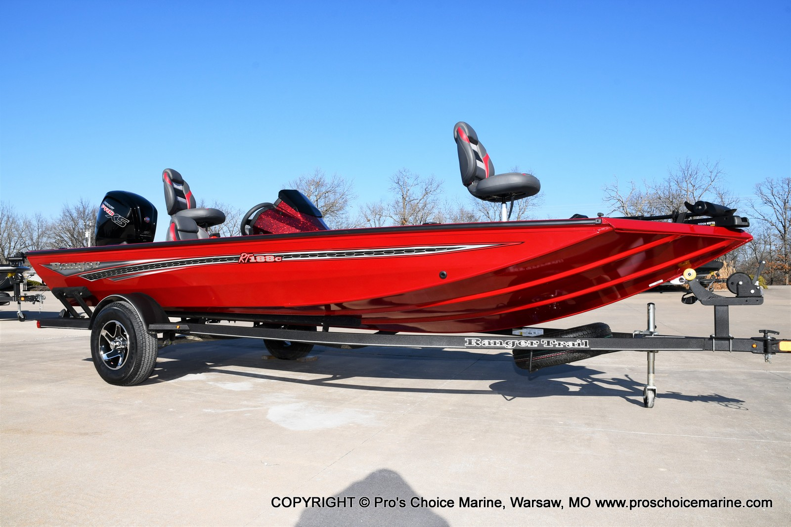 2021 Ranger Boats boat for sale, model of the boat is RT188C w/115HP Mercury Pro-XS Command Thrust & Image # 44 of 50