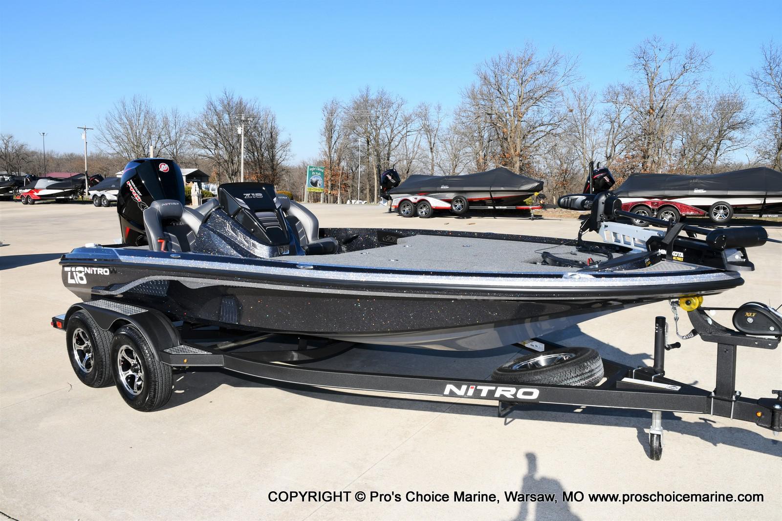 2021 Nitro boat for sale, model of the boat is Z18 w/175HP Mercury Pro-XS & Image # 1 of 50