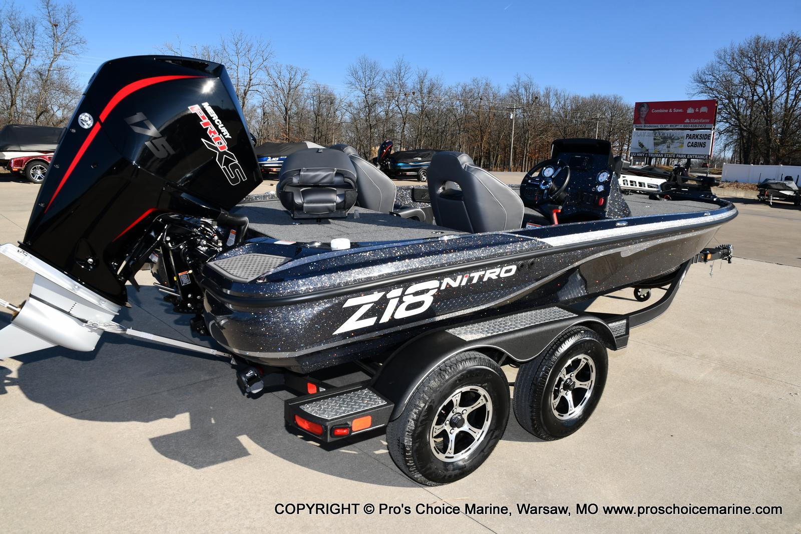 2021 Nitro boat for sale, model of the boat is Z18 w/175HP Mercury Pro-XS & Image # 17 of 50