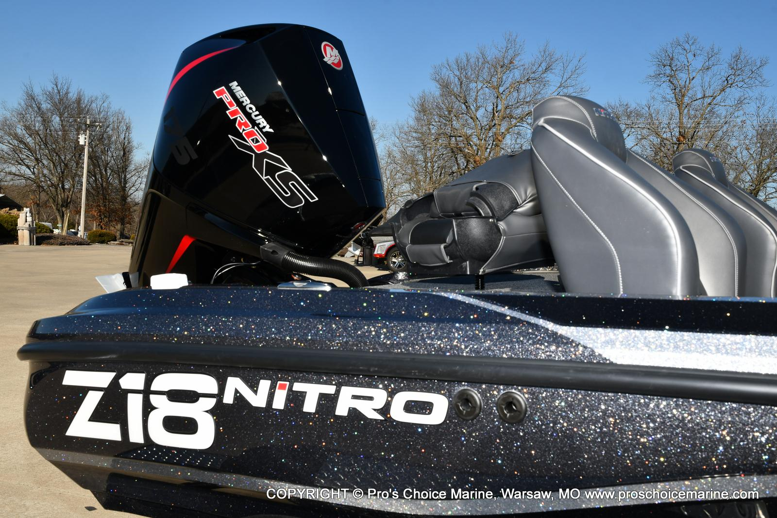2021 Nitro boat for sale, model of the boat is Z18 w/175HP Mercury Pro-XS & Image # 37 of 50
