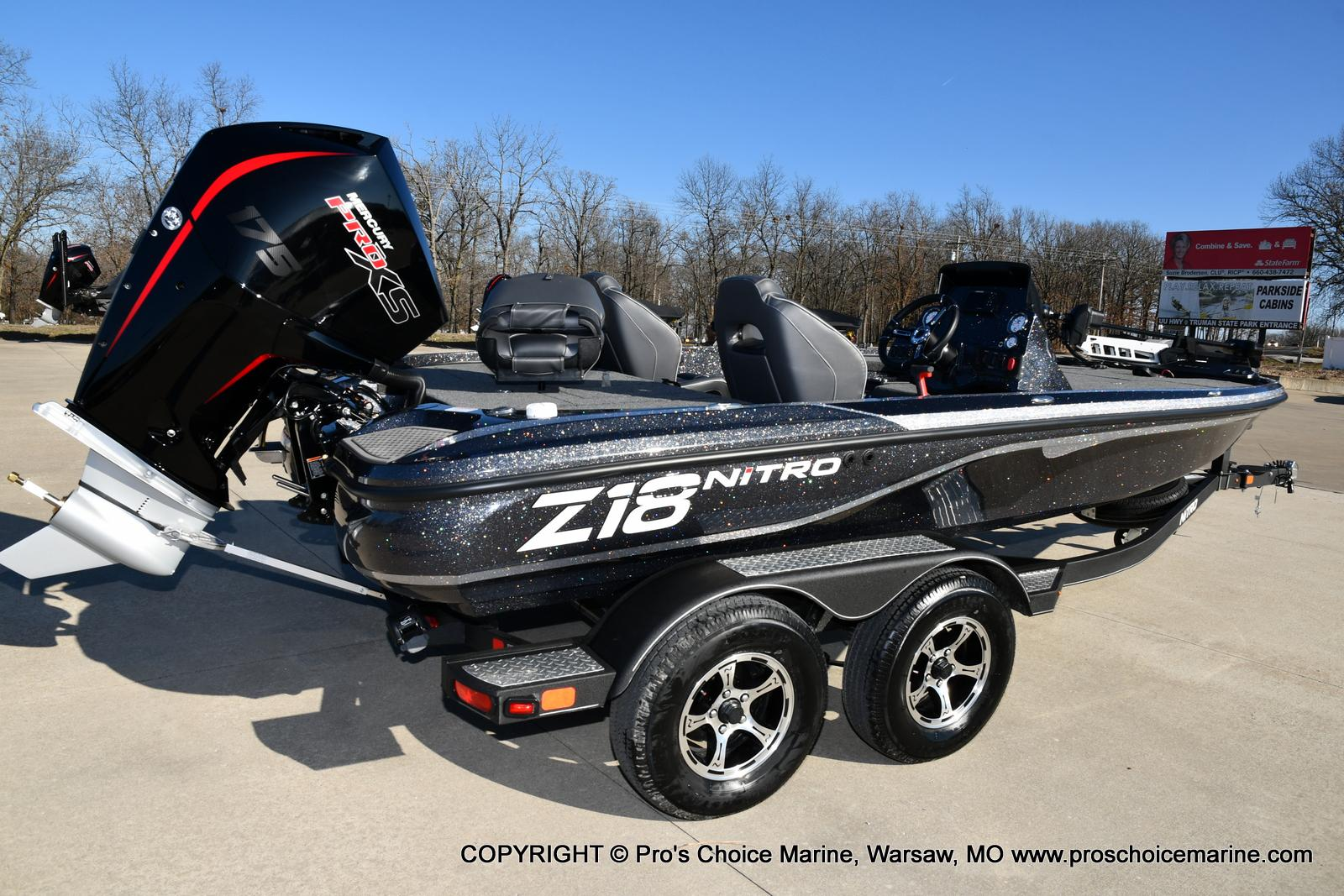 2021 Nitro boat for sale, model of the boat is Z18 w/175HP Mercury Pro-XS & Image # 38 of 50