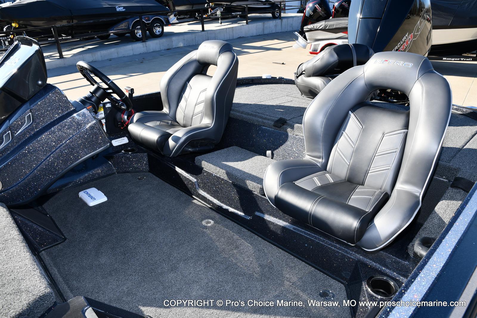 2021 Nitro boat for sale, model of the boat is Z18 w/175HP Mercury Pro-XS & Image # 43 of 50