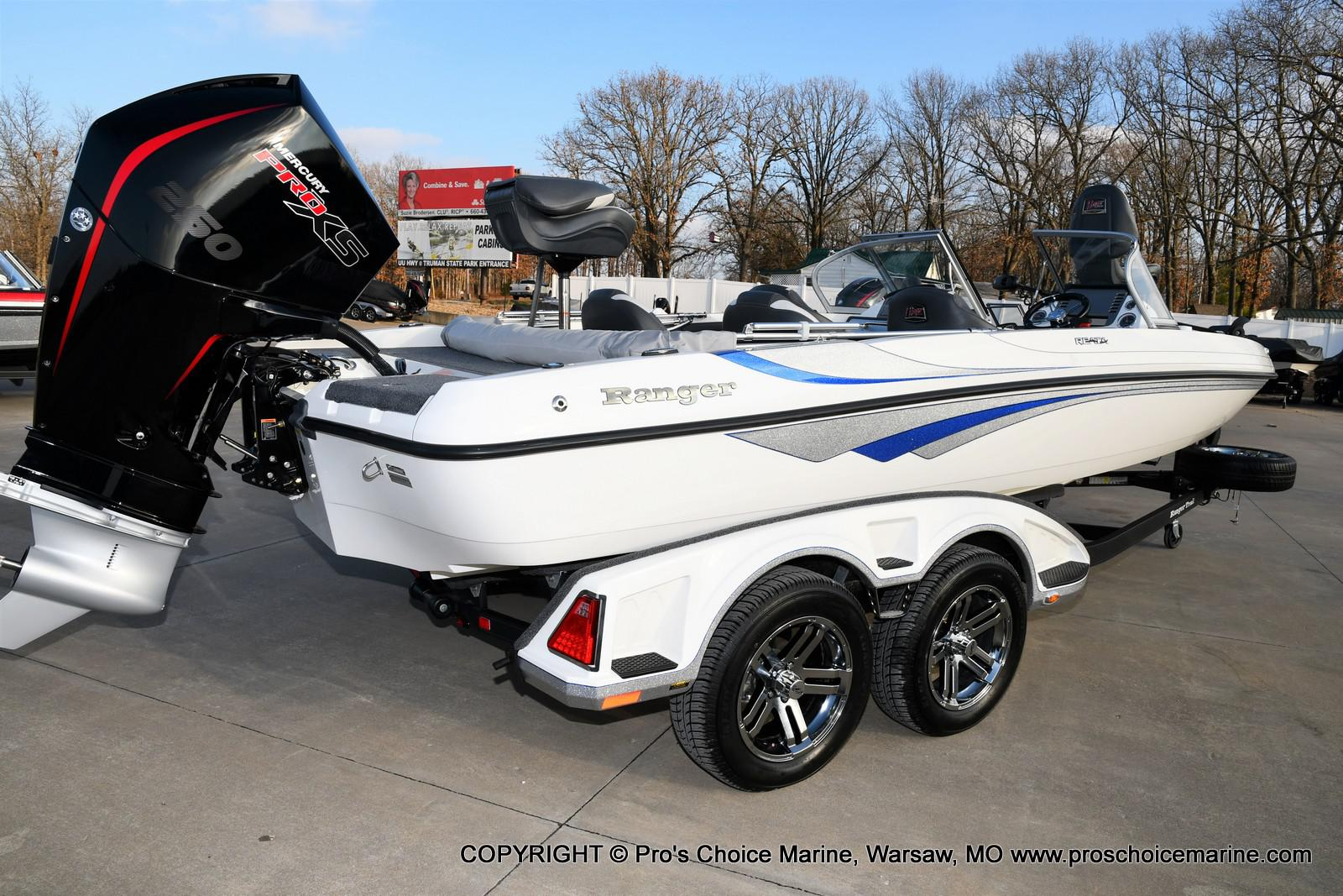 2021 Ranger Boats boat for sale, model of the boat is 212LS w/250HP Mercury Pro-XS & Image # 4 of 50