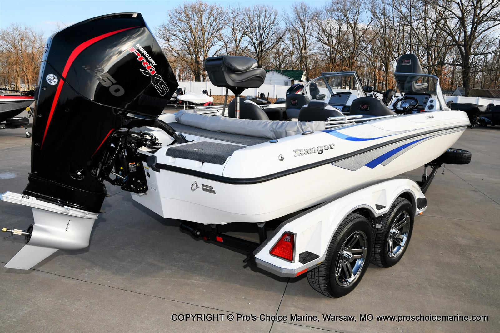 2021 Ranger Boats boat for sale, model of the boat is 212LS w/250HP Mercury Pro-XS & Image # 40 of 50