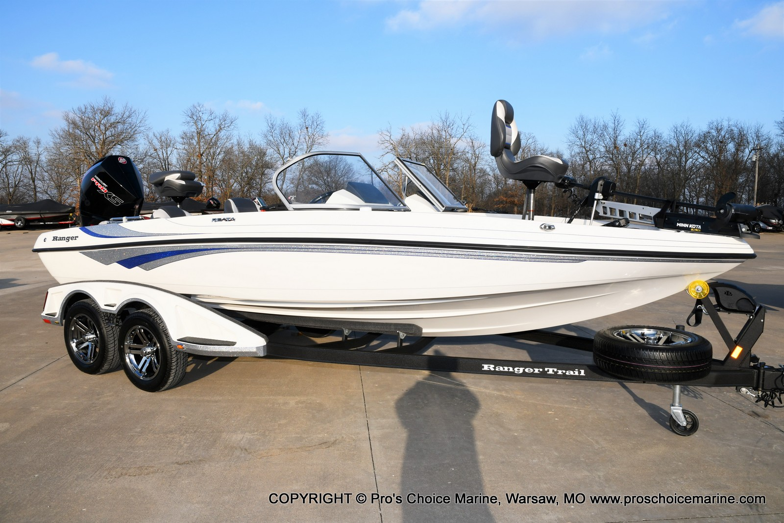 2021 Ranger Boats boat for sale, model of the boat is 212LS w/250HP Mercury Pro-XS & Image # 2 of 50