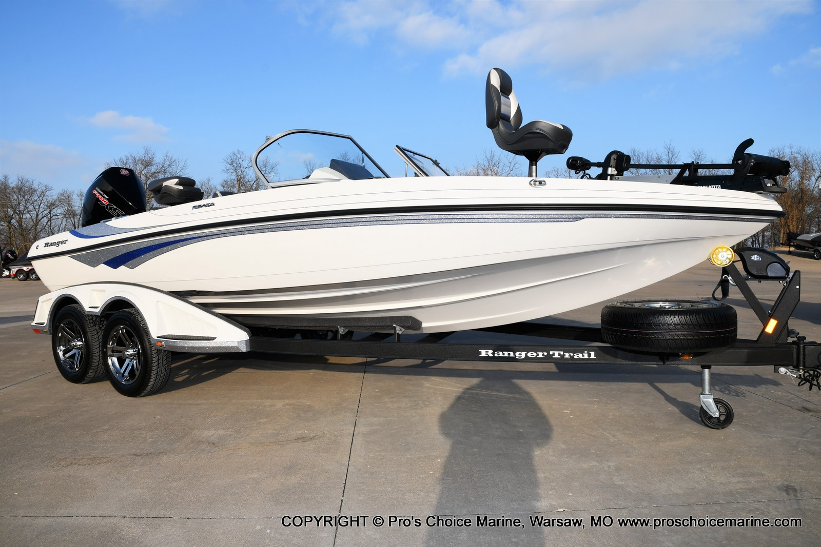 2021 Ranger Boats boat for sale, model of the boat is 212LS w/250HP Mercury Pro-XS & Image # 3 of 50