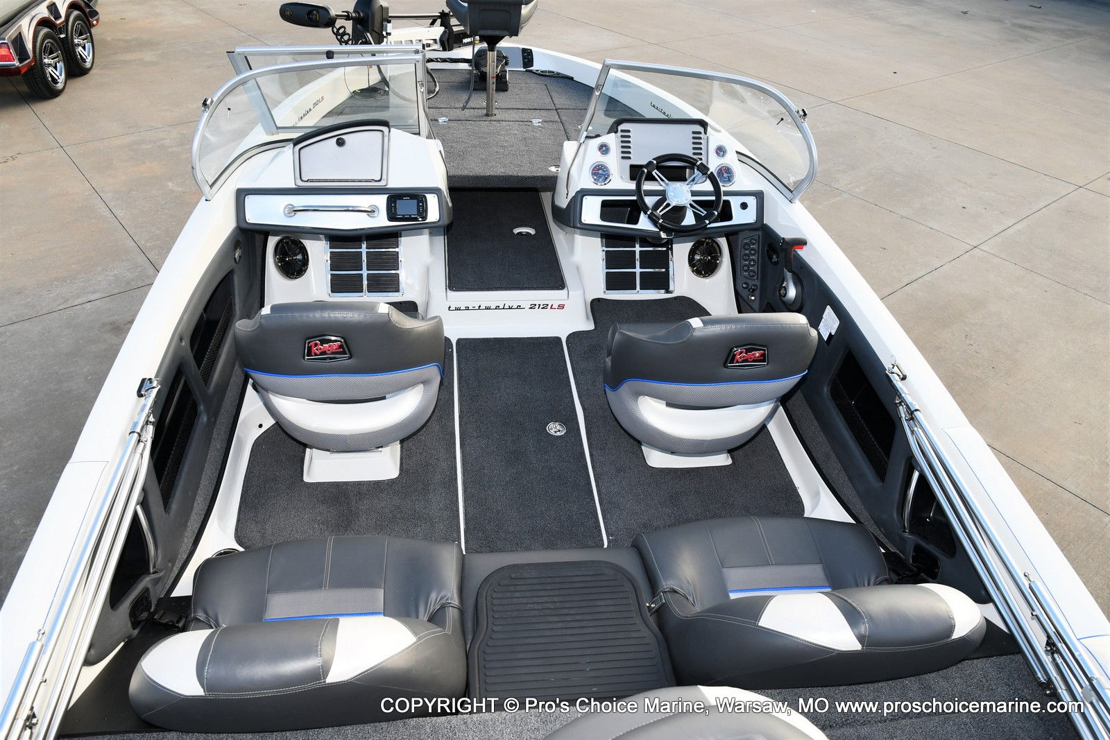 2021 Ranger Boats boat for sale, model of the boat is 212LS w/250HP Mercury Pro-XS & Image # 34 of 50