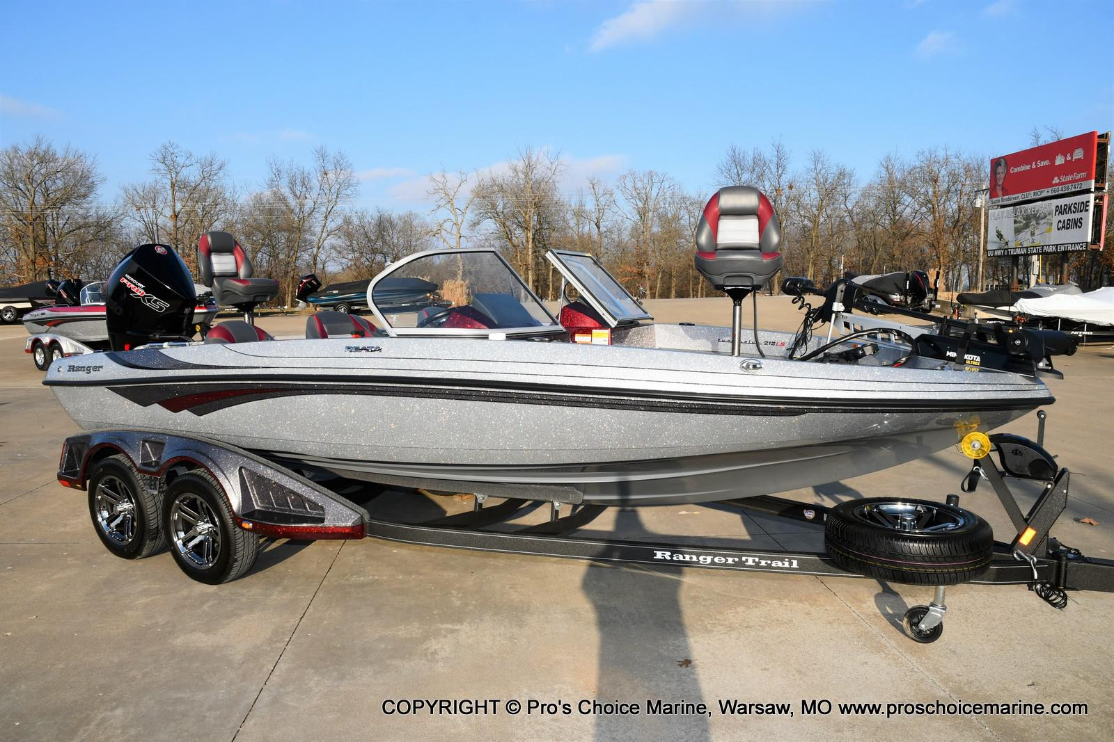 2021 Ranger Boats boat for sale, model of the boat is 212LS w/250HP Mercury Pro-XS & Image # 1 of 50
