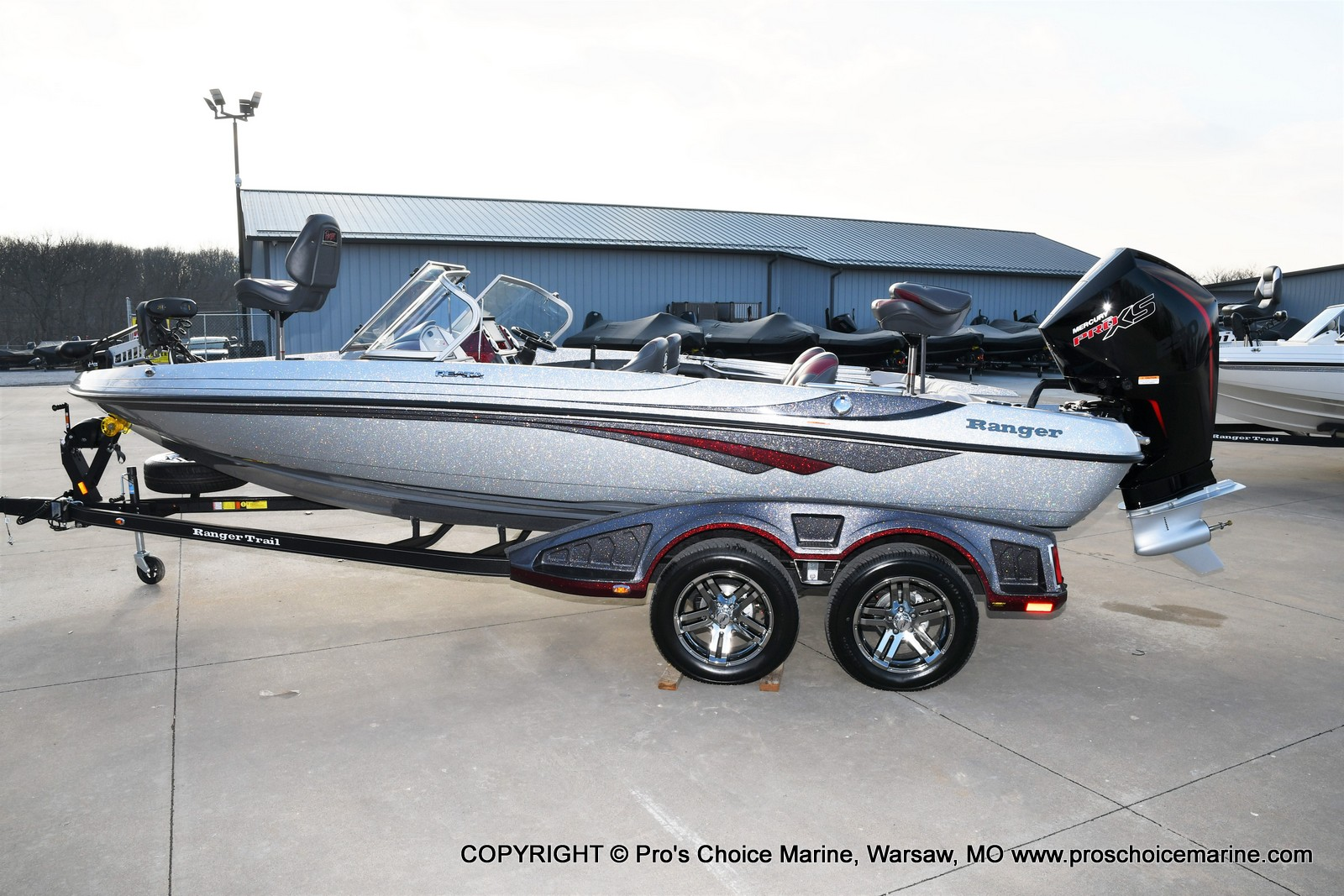 2021 Ranger Boats boat for sale, model of the boat is 212LS w/250HP Mercury Pro-XS & Image # 7 of 50