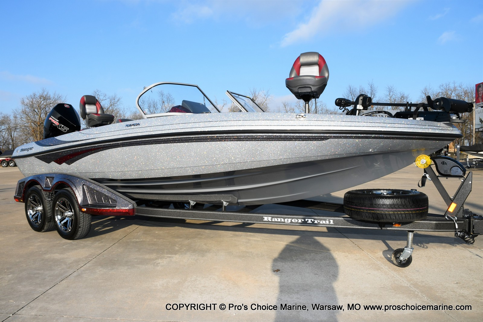 2021 Ranger Boats boat for sale, model of the boat is 212LS w/250HP Mercury Pro-XS & Image # 16 of 50