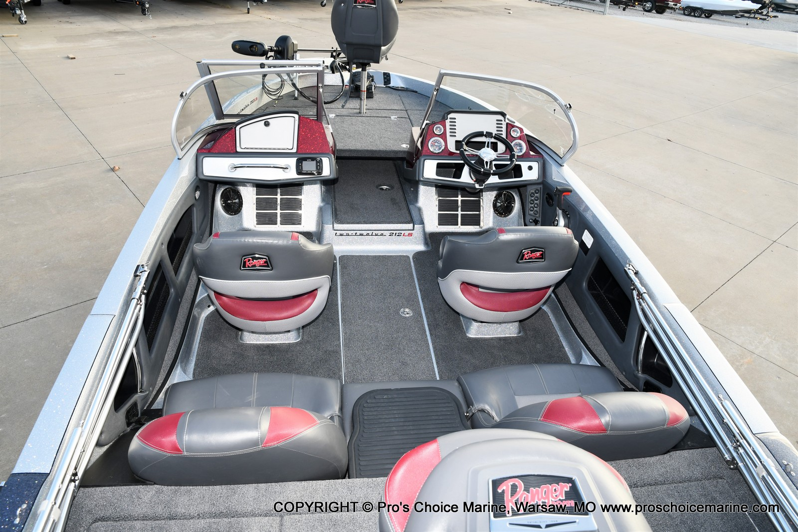 2021 Ranger Boats boat for sale, model of the boat is 212LS w/250HP Mercury Pro-XS & Image # 20 of 50