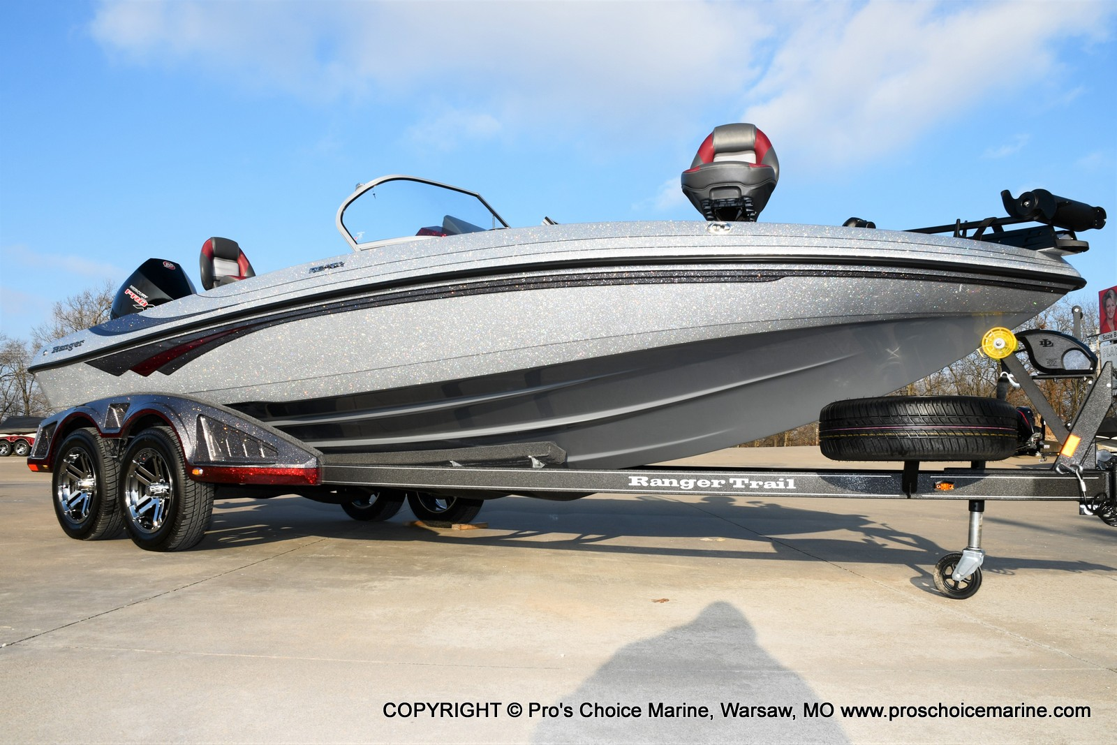 2021 Ranger Boats boat for sale, model of the boat is 212LS w/250HP Mercury Pro-XS & Image # 35 of 50