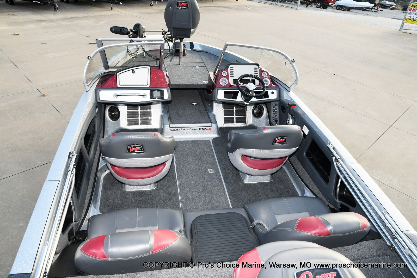 2021 Ranger Boats boat for sale, model of the boat is 212LS w/250HP Mercury Pro-XS & Image # 39 of 50