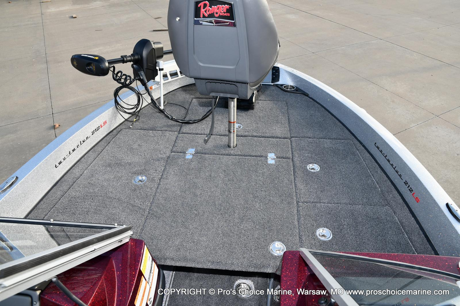 2021 Ranger Boats boat for sale, model of the boat is 212LS w/250HP Mercury Pro-XS & Image # 43 of 50