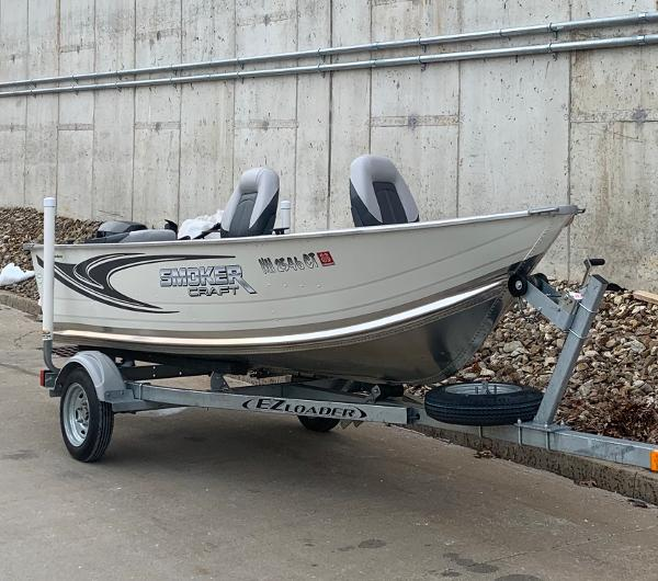 2019 Smoker Craft boat for sale, model of the boat is Alaskan 13 TS DLX & Image # 1 of 4