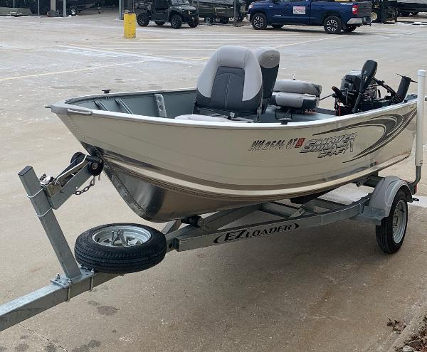 2019 Smoker Craft boat for sale, model of the boat is Alaskan 13 TS DLX & Image # 2 of 4