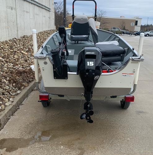 2019 Smoker Craft boat for sale, model of the boat is Alaskan 13 TS DLX & Image # 3 of 4