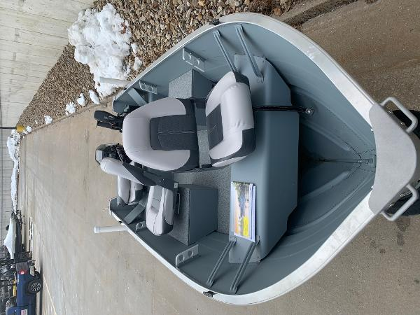 2019 Smoker Craft boat for sale, model of the boat is Alaskan 13 TS DLX & Image # 4 of 4