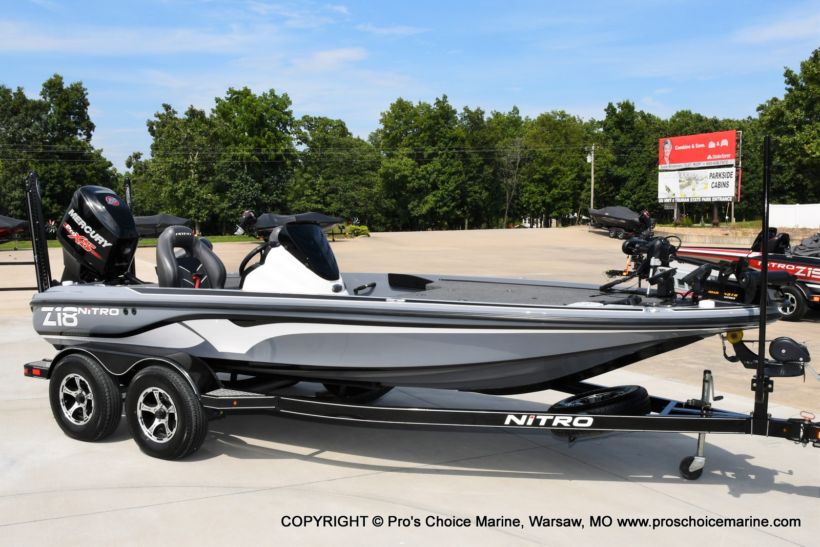2017 Nitro boat for sale, model of the boat is Z18 & Image # 49 of 50