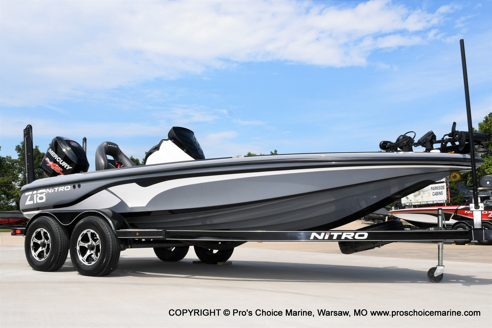2017 Nitro boat for sale, model of the boat is Z18 & Image # 50 of 50