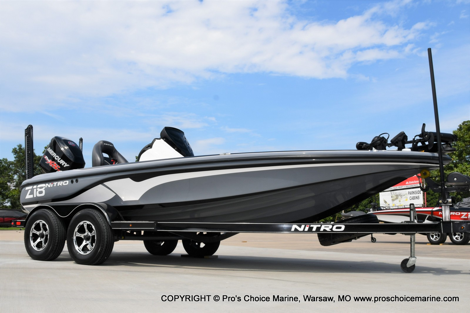 2017 Nitro boat for sale, model of the boat is Z18 & Image # 1 of 50