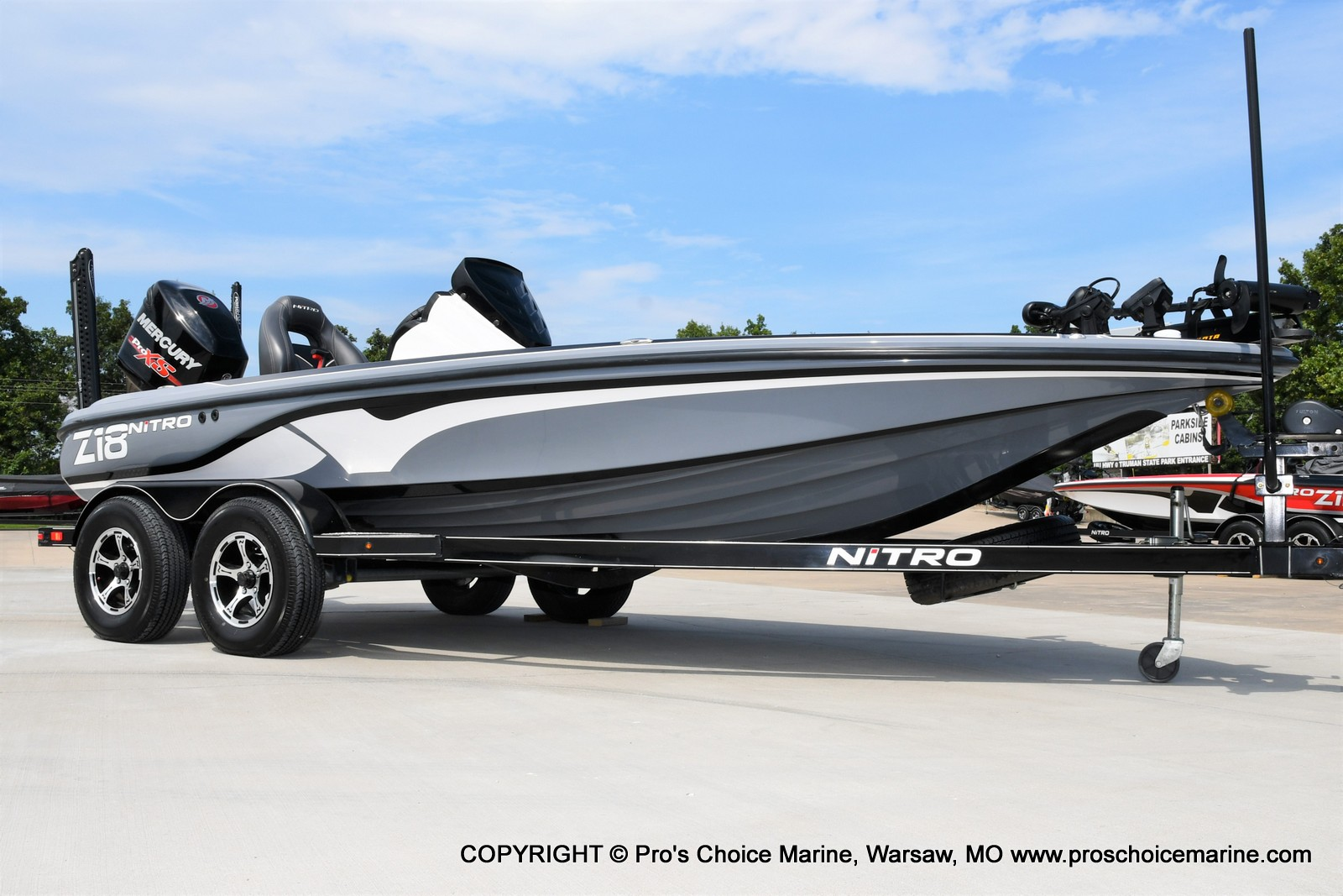 2017 Nitro boat for sale, model of the boat is Z18 & Image # 27 of 50