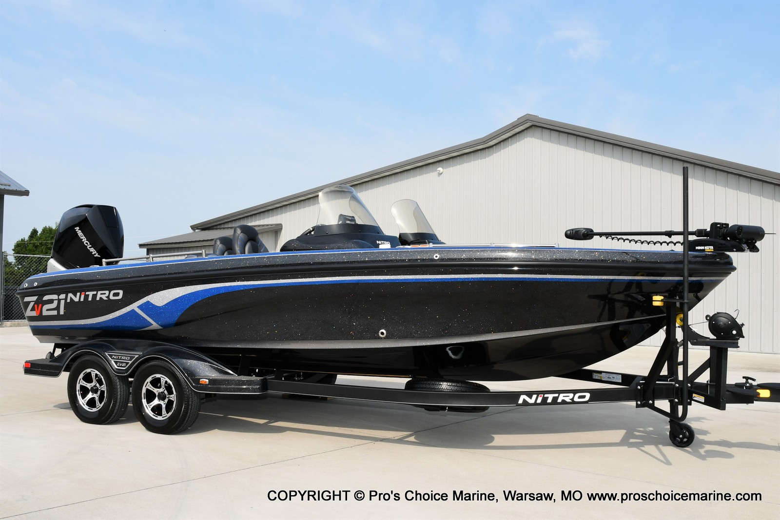 2022 Nitro boat for sale, model of the boat is ZV21 w/300HP Mercury Verado & Image # 14 of 50