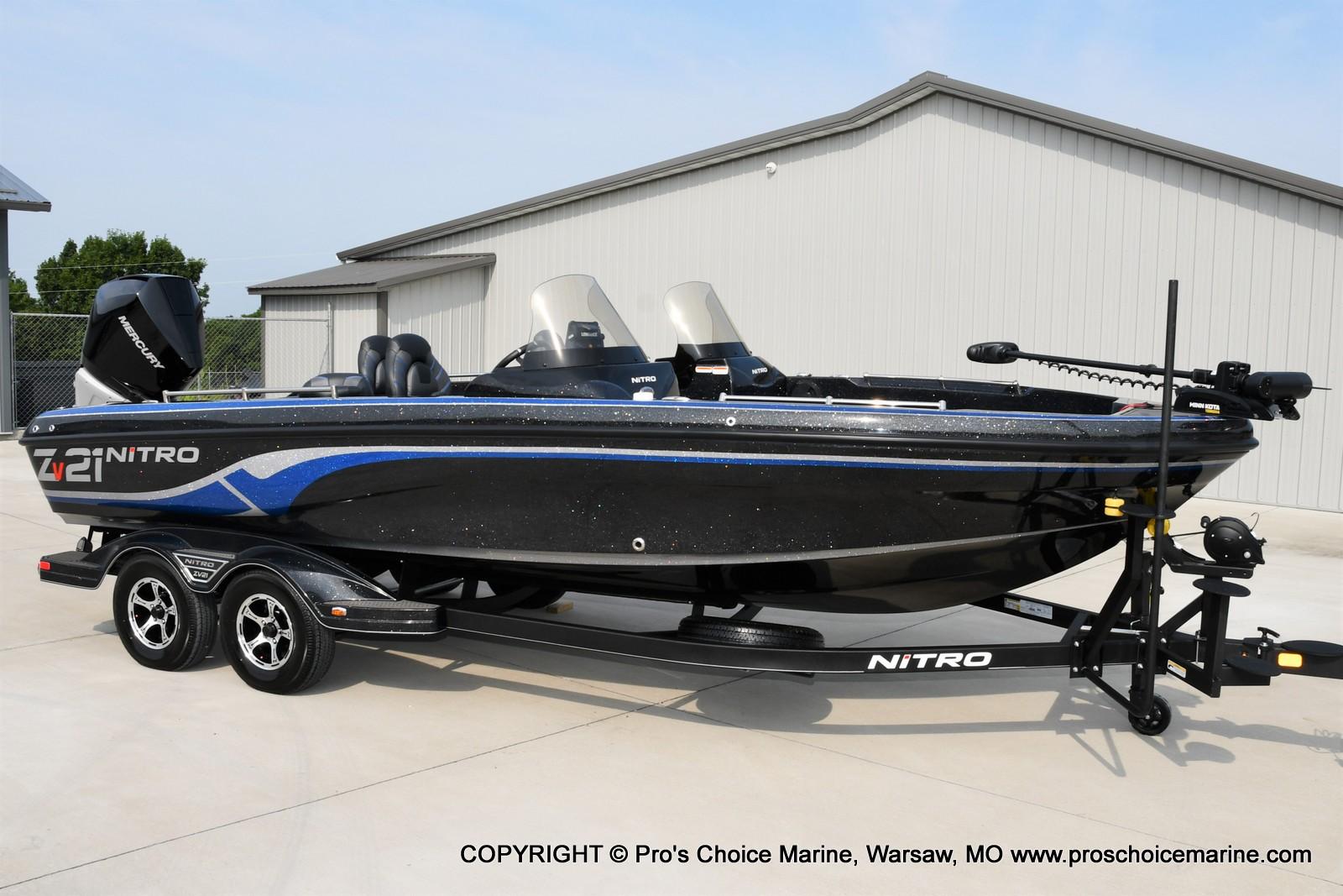 2022 Nitro boat for sale, model of the boat is ZV21 w/300HP Mercury Verado & Image # 15 of 50