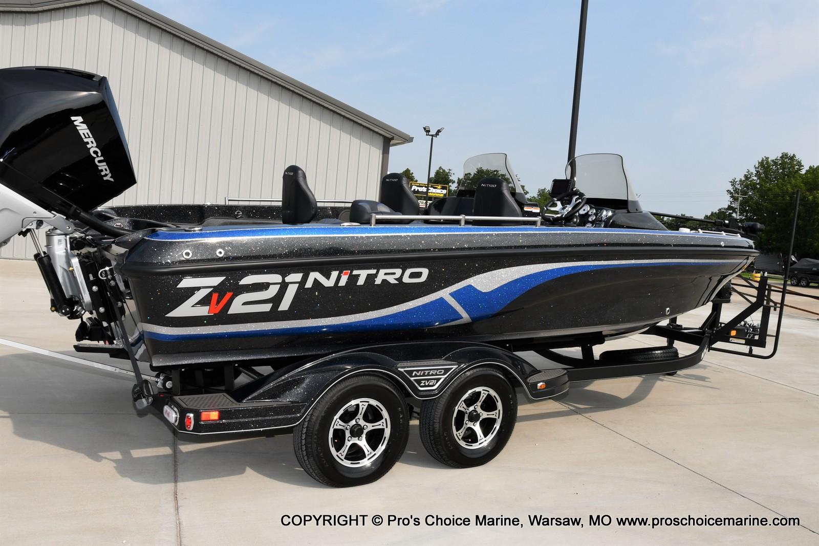 2022 Nitro boat for sale, model of the boat is ZV21 w/300HP Mercury Verado & Image # 16 of 50
