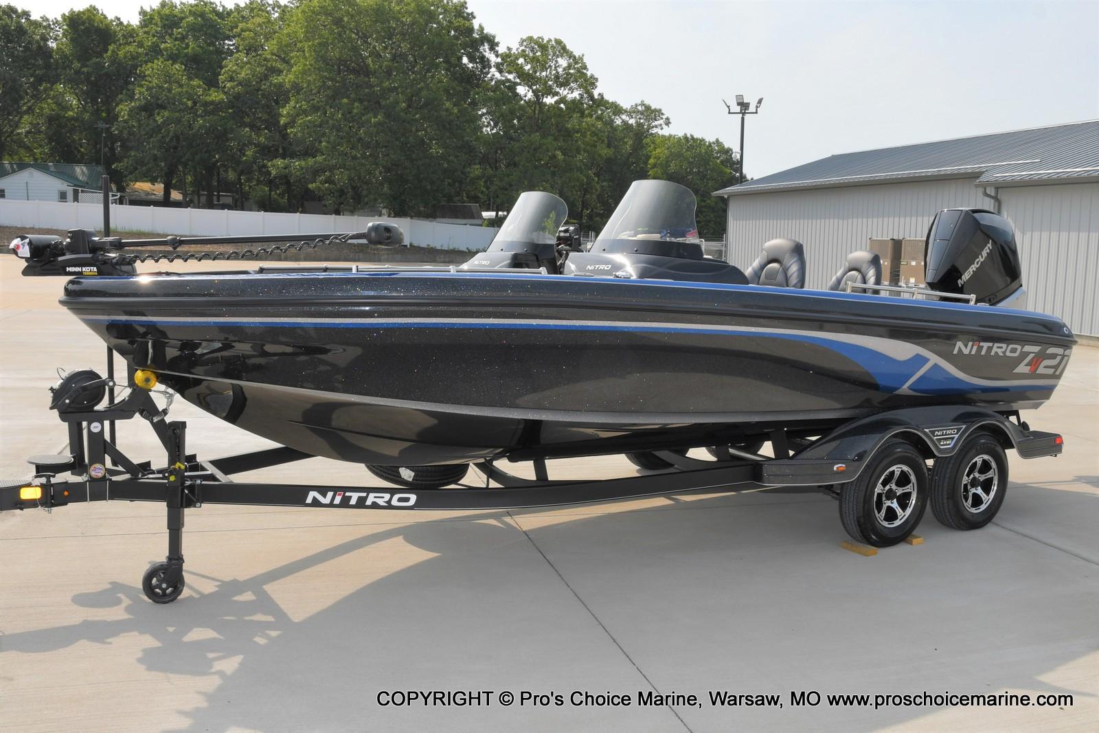 2022 Nitro boat for sale, model of the boat is ZV21 w/300HP Mercury Verado & Image # 17 of 50