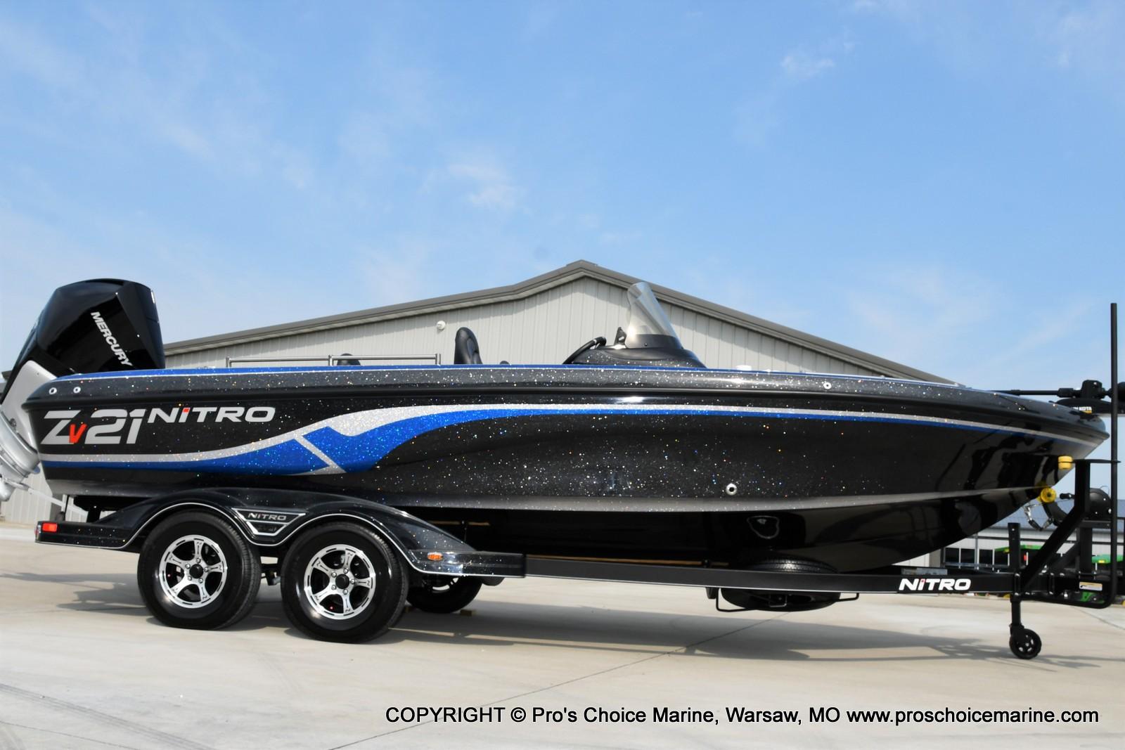 2022 Nitro boat for sale, model of the boat is ZV21 w/300HP Mercury Verado & Image # 36 of 50
