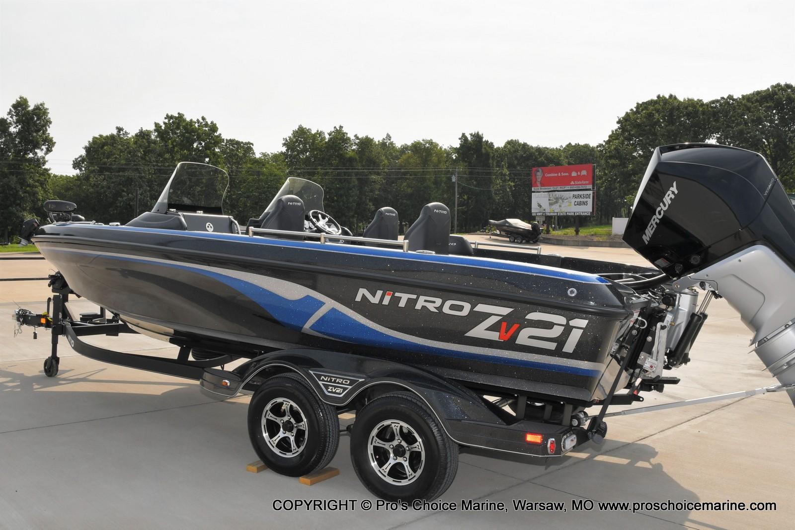 2022 Nitro boat for sale, model of the boat is ZV21 w/300HP Mercury Verado & Image # 38 of 50