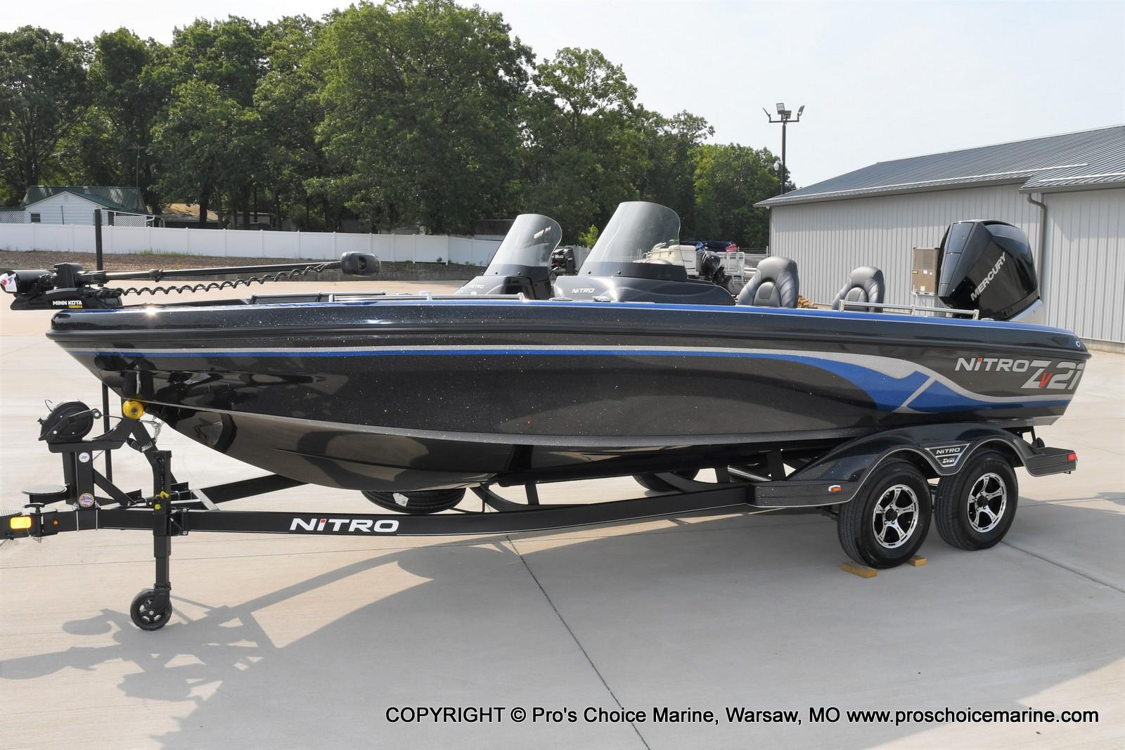 2022 Nitro boat for sale, model of the boat is ZV21 w/300HP Mercury Verado & Image # 39 of 50