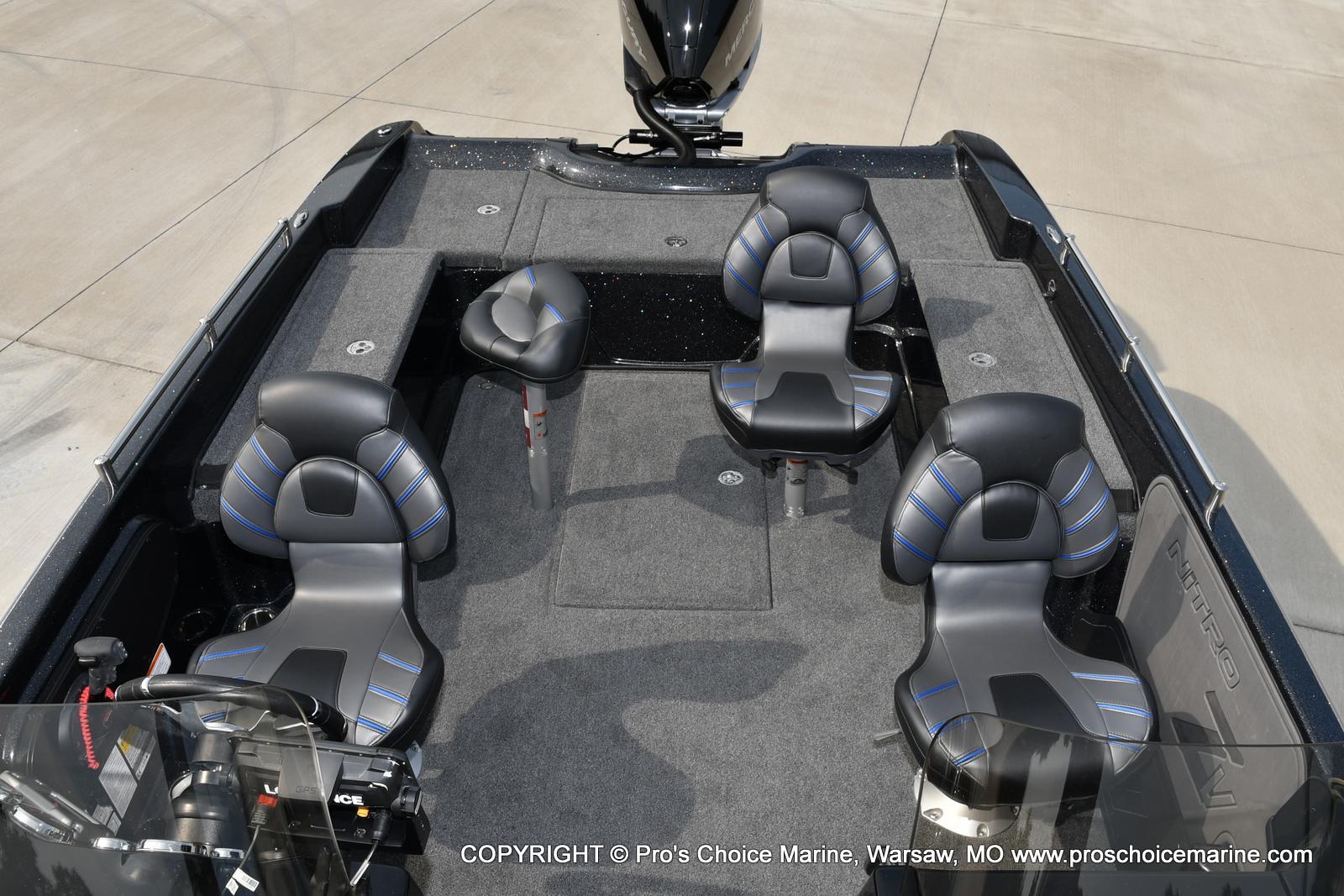 2022 Nitro boat for sale, model of the boat is ZV21 w/300HP Mercury Verado & Image # 30 of 50