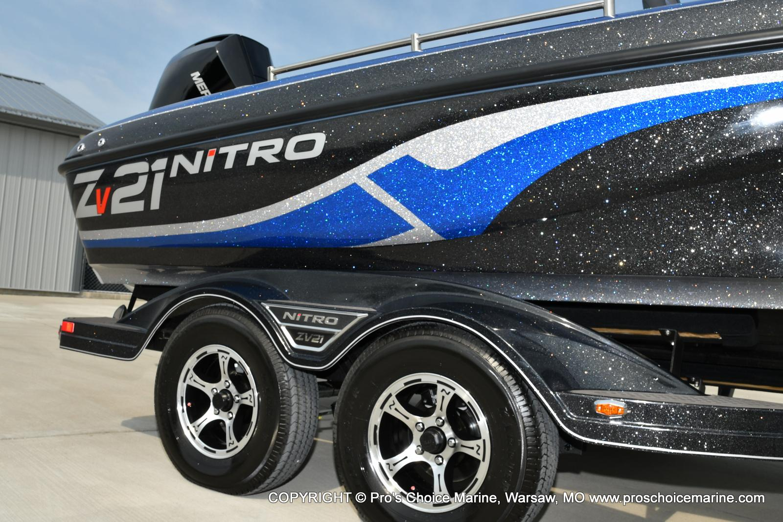 2022 Nitro boat for sale, model of the boat is ZV21 w/300HP Mercury Verado & Image # 35 of 50