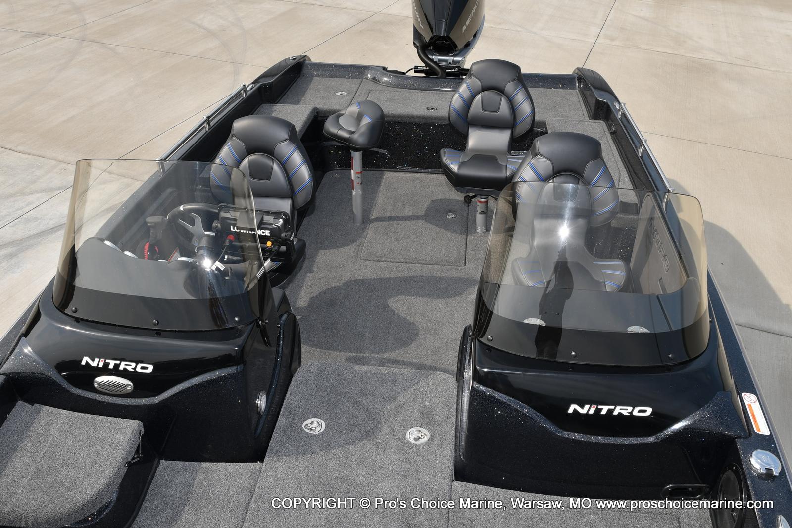 2022 Nitro boat for sale, model of the boat is ZV21 w/300HP Mercury Verado & Image # 47 of 50