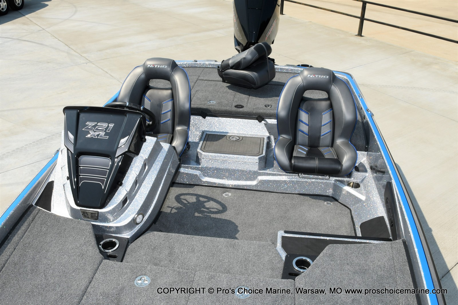 2022 Nitro boat for sale, model of the boat is Z21 XL Pro Pack & Image # 16 of 50