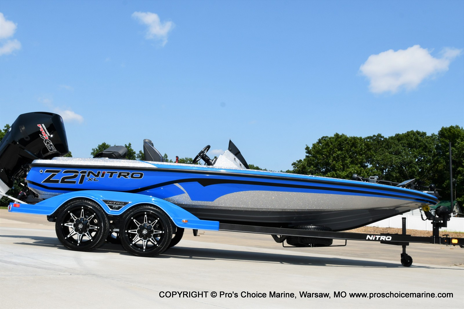 2022 Nitro boat for sale, model of the boat is Z21 XL Pro Pack & Image # 21 of 50