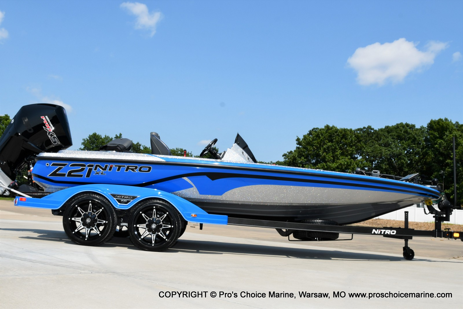 2022 Nitro boat for sale, model of the boat is Z21 XL Pro Pack & Image # 4 of 50