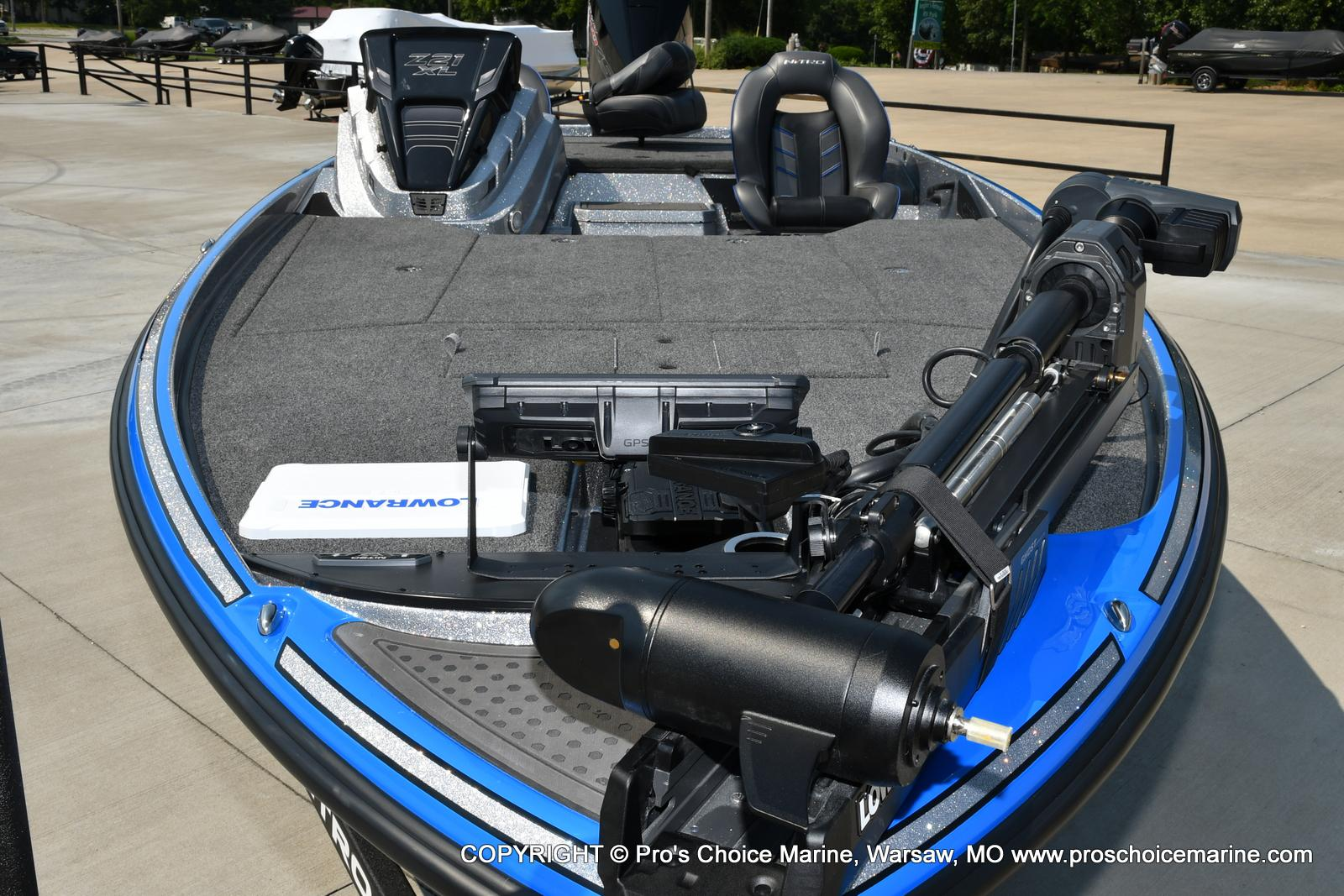 2022 Nitro boat for sale, model of the boat is Z21 XL Pro Pack & Image # 9 of 50