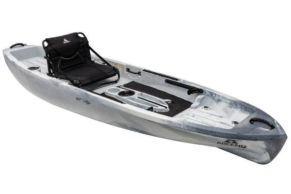 2018 Ascend boat for sale, model of the boat is 10T Sit-On-Top (White/Black) & Image # 1 of 6