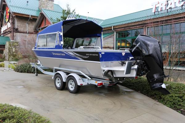 2019 Spartan boat for sale, model of the boat is 215 Athens & Image # 5 of 9