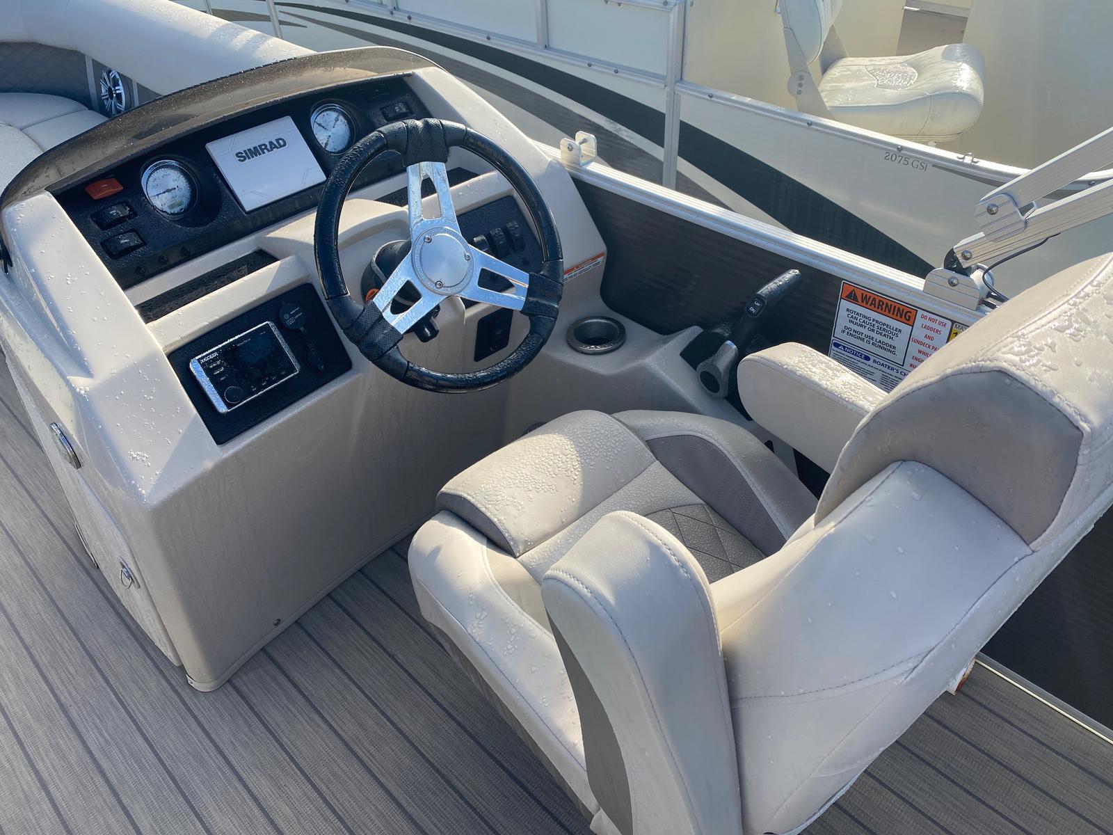2018 Bennington boat for sale, model of the boat is 22 SSX Pontoon & Image # 10 of 13