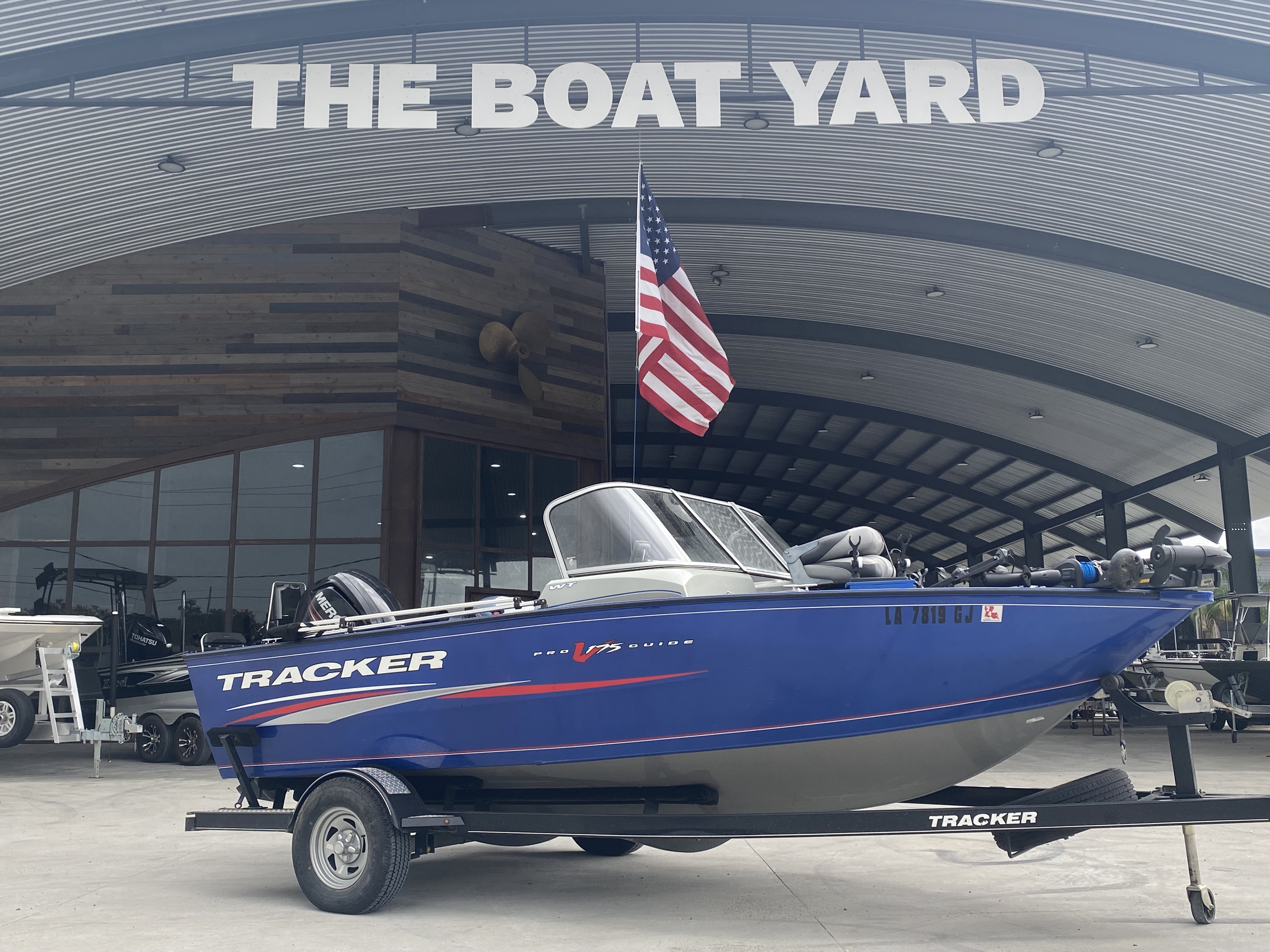 2016 Tracker Boats boat for sale, model of the boat is Pro Guide 175 WT & Image # 1 of 20