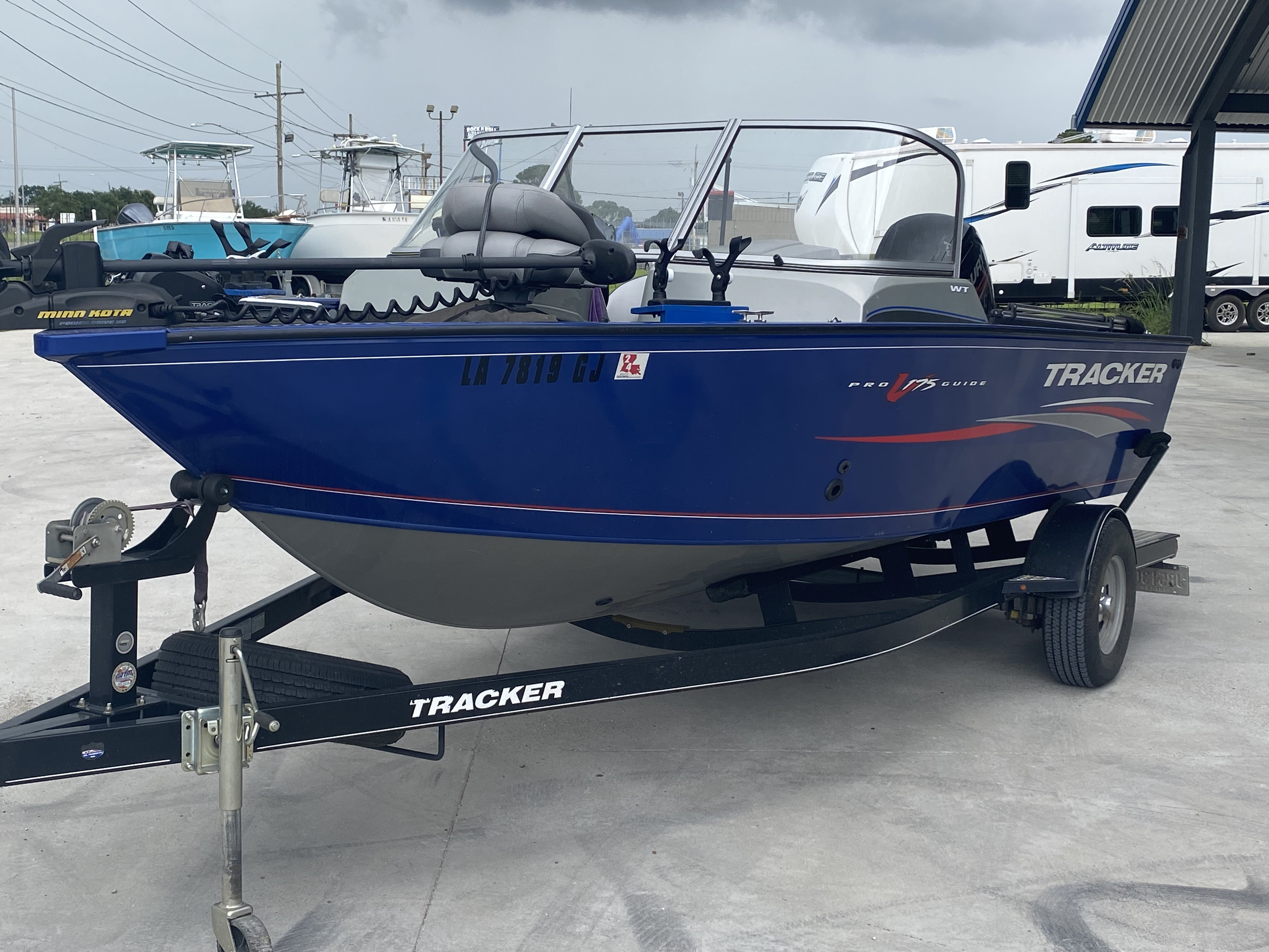 2016 Tracker Boats boat for sale, model of the boat is Pro Guide 175 WT & Image # 10 of 20